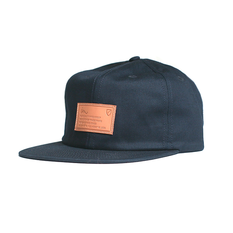 Latitude Strap Back // Navy