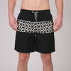 Mezcal Volley Boardshort // Black