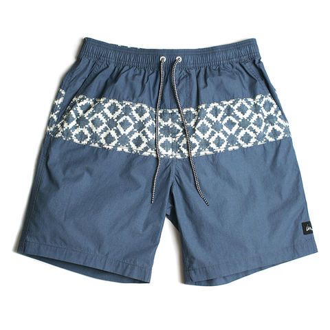 Mezcal Volley Boardshort // Indigo