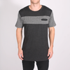 Nelson SS Tee // Black/Charcoal