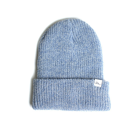 Norm Beanie  //  Light Blue Marle