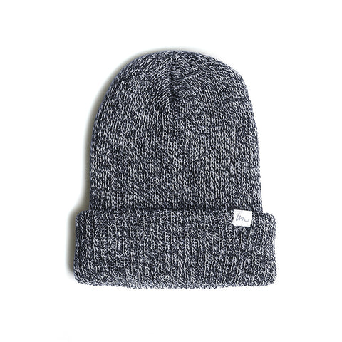 Norm Beanie  //  Navy Marle