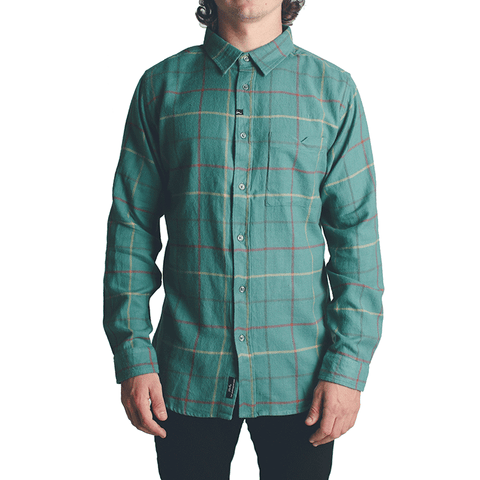 Parlay LS Flannel // Emerald