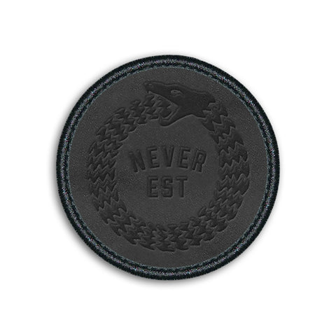 Snake Velcro Patch  // Black