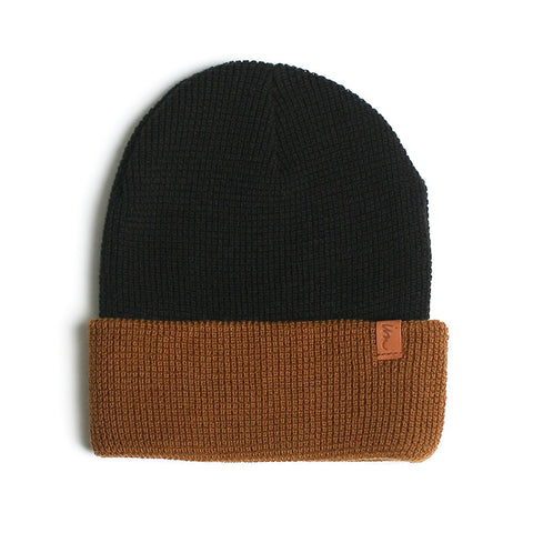 Patterson Beanie // Black Tobacco