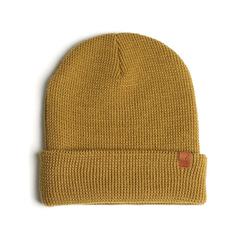 Patterson Beanie // Gold