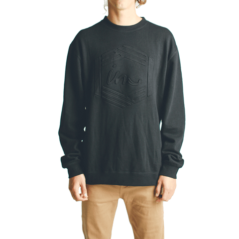Post Crew Neck // Black