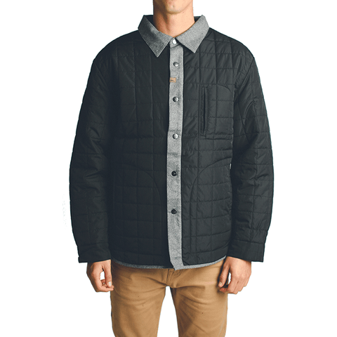 Trader Overshirt  //  Black