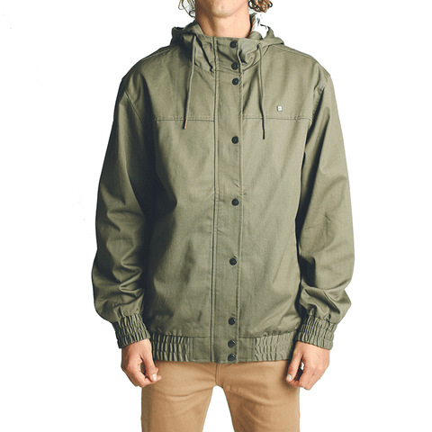 Turner Jacket // Olive Heather