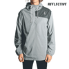 Vector Windbreaker Jacket  //  Reflective Silver