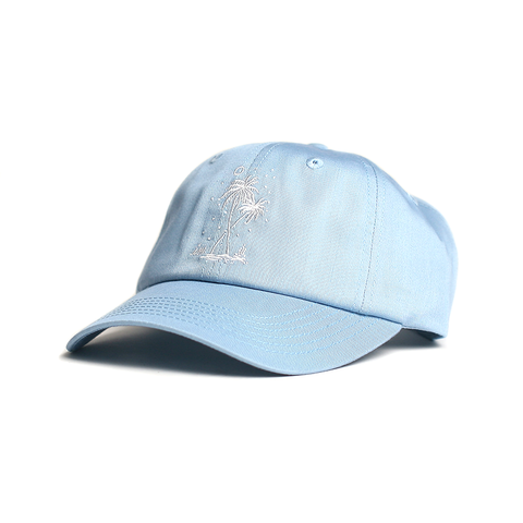 Postcards From Paradise Hat // Light Blue