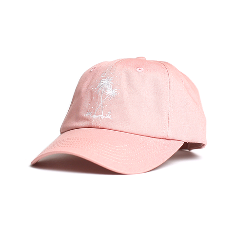 Postcards From Paradise Hat // Soft Pink