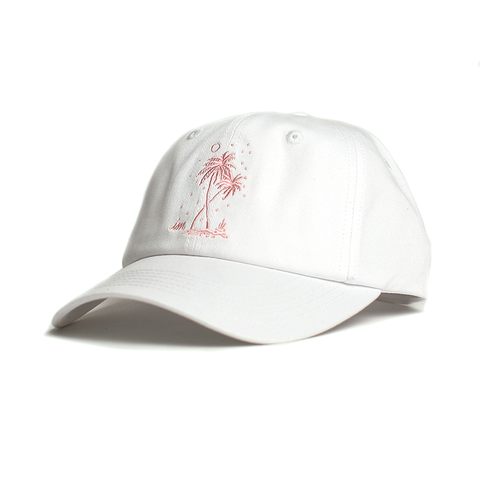 Postcards From Paradise Hat // White