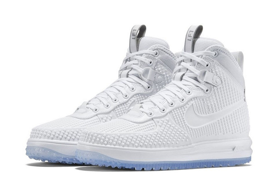 Nike's White Lunar Force 1 Duckboot in White is Up Next