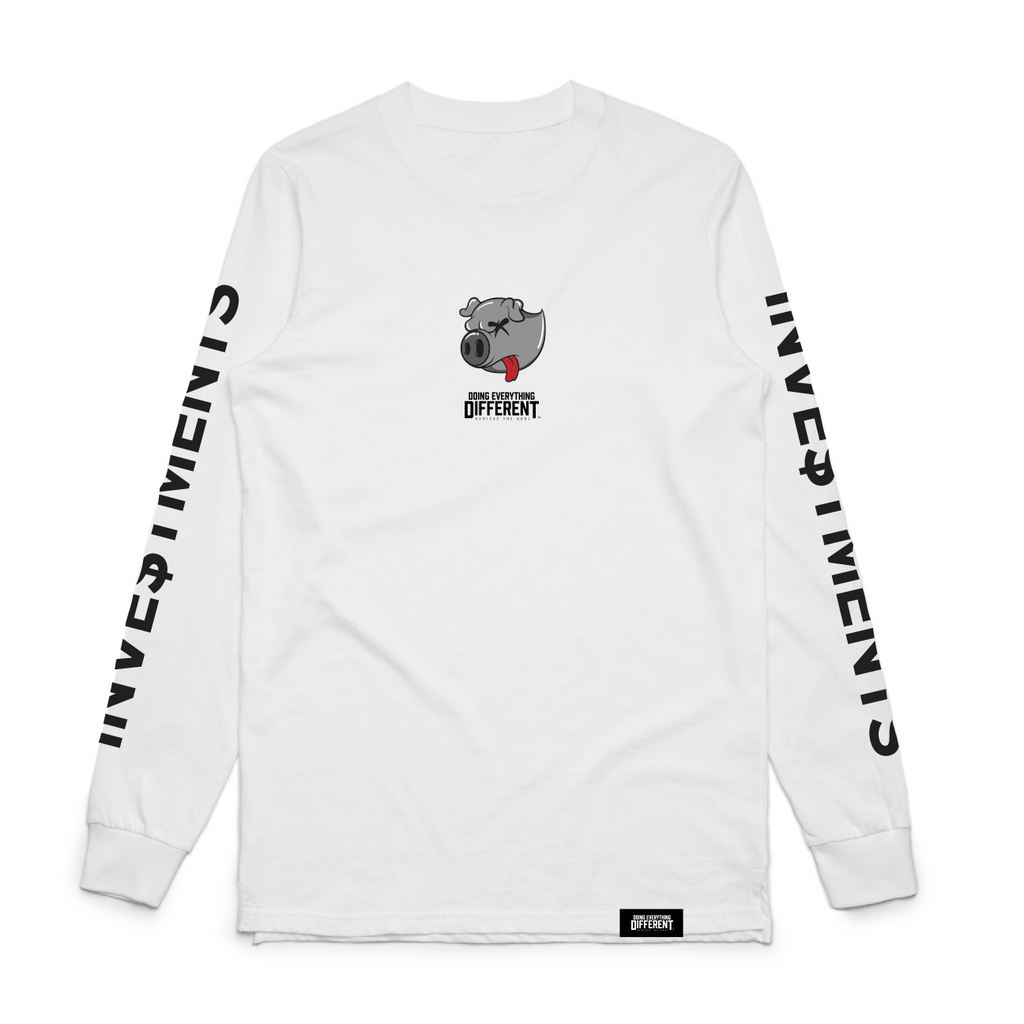 Investments Long Sleeve - White