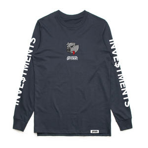 Investments Long Sleeve - Navy