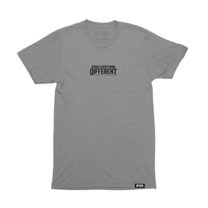 Logo Tee - heather grey tri-blend