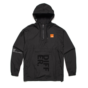 Differ. Windbreaker - black