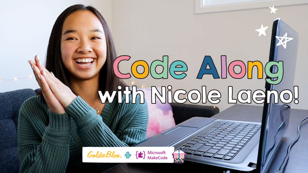Join GoldieBlox and Microsoft for a Fun & Free Hour of Code Event with Nicole Laeno