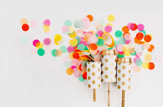 Confetti Poppers – A Burst of Rainbow Bliss!
