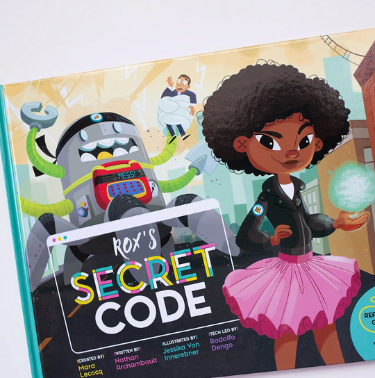 New Kid on The Blox: Inspire Girls to Get Into Coding With Rox and her Robots