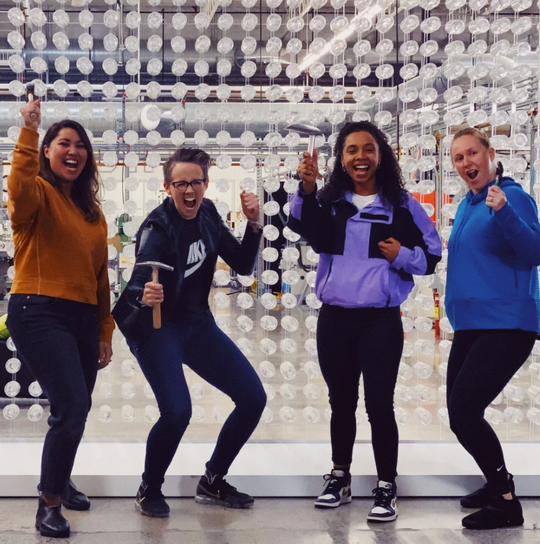Back Girl Power Inside Nike's Secret Builder Lab