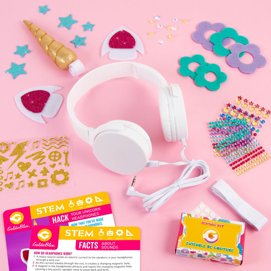DIY Unicorn Headphones