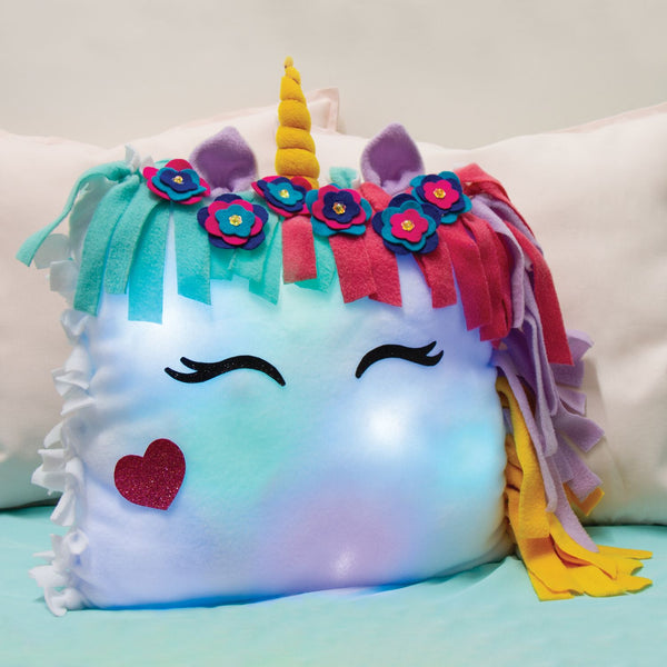 Light Up Unicorn Pillow