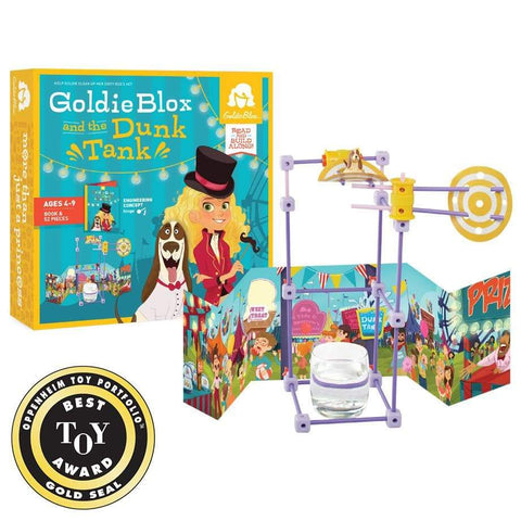 GoldieBlox and the Dunk Tank (Ages 4+)