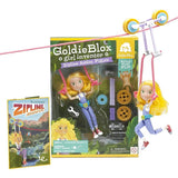 GoldieBlox Zipline Action Figure (Ages 4+)