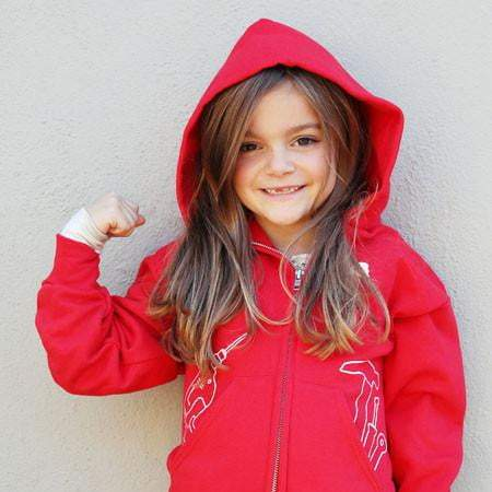 """More Than Just a Princess"" Hoodie (Kids) - Red"