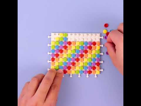 Rainbow Mini Purse Construction Toy