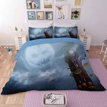 Load image into Gallery viewer, Halloween Horro Pumpkin Ghost #24 Duvet Cover Quilt Cover Pillowcase Bedding Set Bed Linen