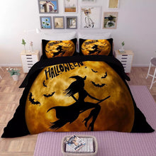 Load image into Gallery viewer, Halloween Horro Pumpkin Ghost #5 Duvet Cover Quilt Cover Pillowcase Bedding Set Bed Linen