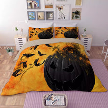 Load image into Gallery viewer, Halloween Horro Pumpkin Ghost #6 Duvet Cover Quilt Cover Pillowcase Bedding Set Bed Linen