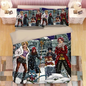 Fairy Tail #8 Duvet Cover Quilt Cover Pillowcase Bedding Set Bed Linen