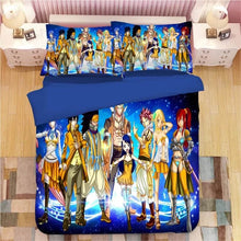 Load image into Gallery viewer, Fairy Tail #4 Duvet Cover Quilt Cover Pillowcase Bedding Set Bed Linen