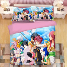 Load image into Gallery viewer, Fairy Tail #5 Duvet Cover Quilt Cover Pillowcase Bedding Set Bed Linen