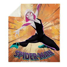 Load image into Gallery viewer, Spider-Man Into the Spider-Verse Miles Morales Gwen #10 Blanket Super Soft Cozy Sherpa Fleece Throw Blanket for Men Boys