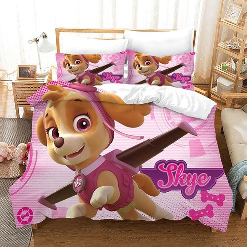 PAW Patrol Marshall #40 Duvet Cover Quilt Cover Pillowcase Bedding Set Bed Linen Home Decor