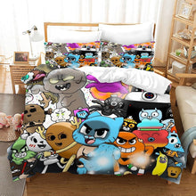 Load image into Gallery viewer, The Amazing World of Gumball #10 Duvet Cover Quilt Cover Pillowcase Bedding Set Bed Linen Home Bedroom Decor