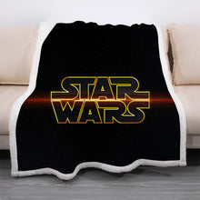 Load image into Gallery viewer, Star Wars #3 Blanket Super Soft Cozy Sherpa Fleece Throw Blanket for Men Boys