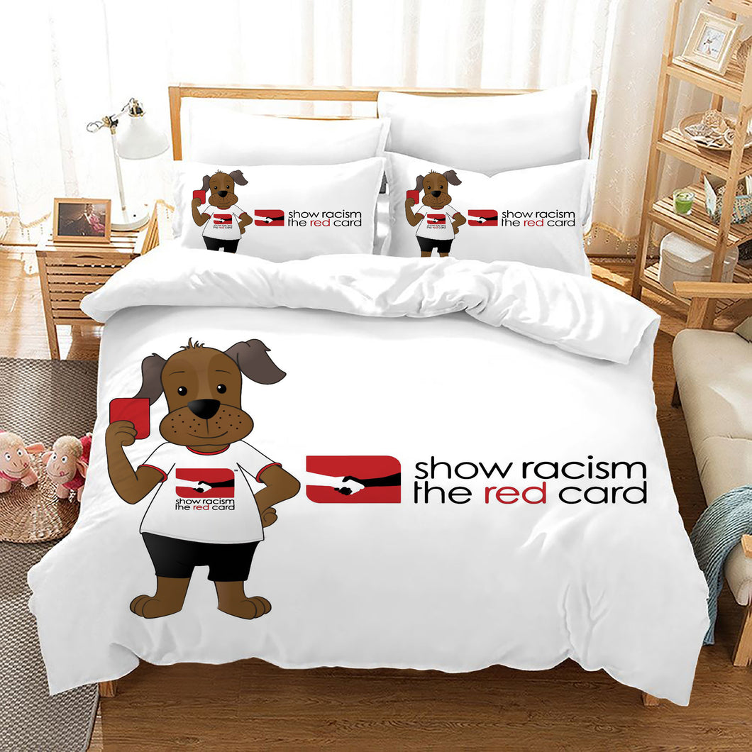 No Racism #11 Duvet Cover Quilt Cover Pillowcase Bedding Set Bed Linen Home Bedroom Decor
