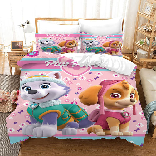 PAW Patrol Marshall #41 Duvet Cover Quilt Cover Pillowcase Bedding Set Bed Linen Home Decor