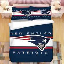 Load image into Gallery viewer, New England Patriots NFL #22 Duvet Cover Quilt Cover Pillowcase Bedding Set Bed Linen Home Bedroom Decor