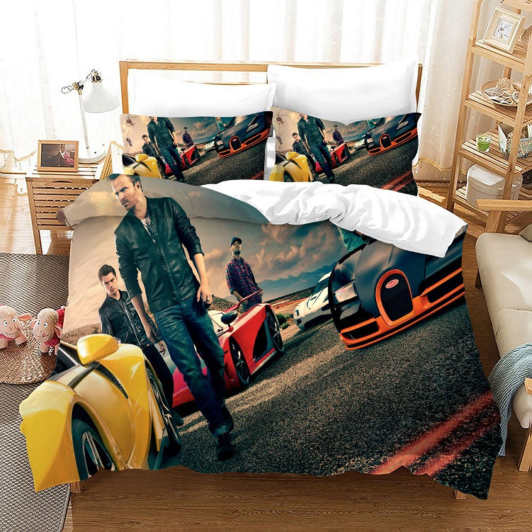 Need for Speed #12 Duvet Cover Quilt Cover Pillowcase Bedding Set Bed Linen Home Bedroom Decor