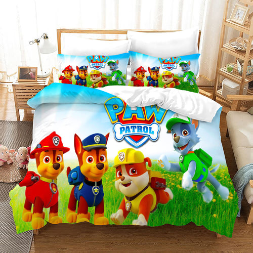 PAW Patrol Marshall #42 Duvet Cover Quilt Cover Pillowcase Bedding Set Bed Linen Home Decor