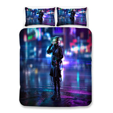 Load image into Gallery viewer, Cyberpunk 2077 #42 Duvet Cover Quilt Cover Pillowcase Bedding Set Bed Linen Home Bedroom Decor