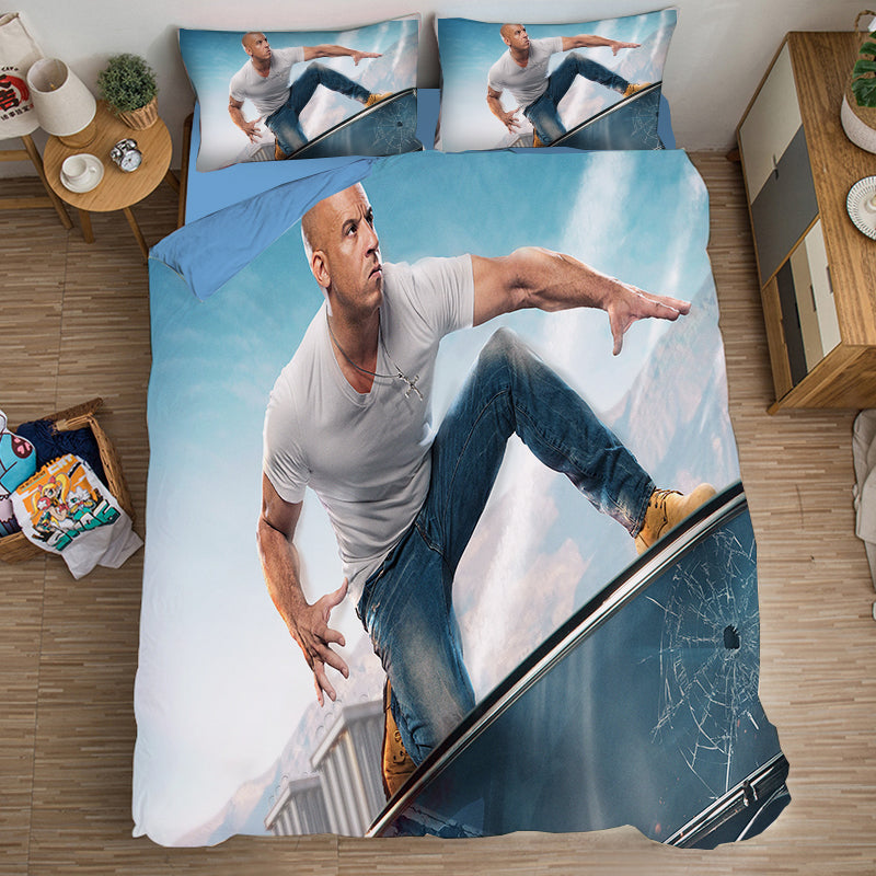 Fast & Furious #12 Duvet Cover Quilt Cover Pillowcase Bedding Set Bed Linen Home Bedroom Decor