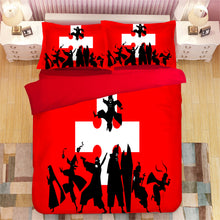 Load image into Gallery viewer, Enn Enn no Shouboutai Fire Force #12 Duvet Cover Quilt Cover Pillowcase Bedding Set Bed Linen Home Bedroom Decor